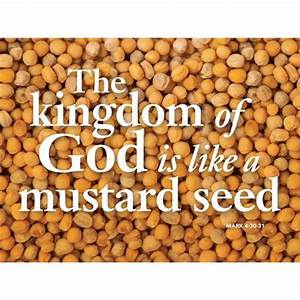 The Power of the Growing Seed